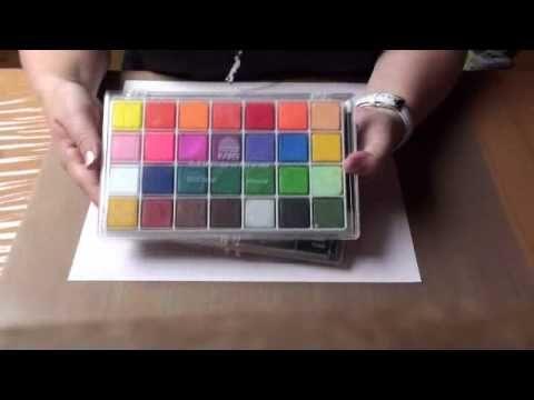 Vidéo en français sur la technique de la craie de la boutique en ligne www.auplaisirduscrap.com