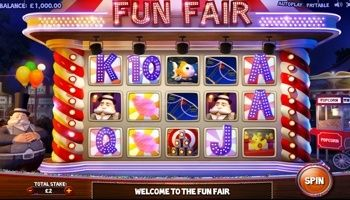 The #FunFair video slot is a colorful and gorgeous game from Cayetano Gaming. Fun Fair is designed with many regular symbols. You can #boost your #regular win lines with the Wild Carny as well as three or more of the Scattered #Tokens.