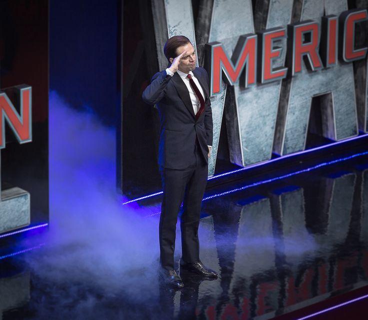 04/26/16 - 'Captain America Civil War' European Premiere (Credit: Ibsan73) - 001 - Sebastian Stan Photo Archive |