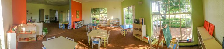 A panorama shot of our preschool environment