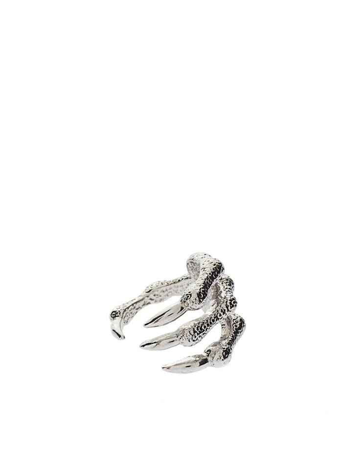 Monster paw ring