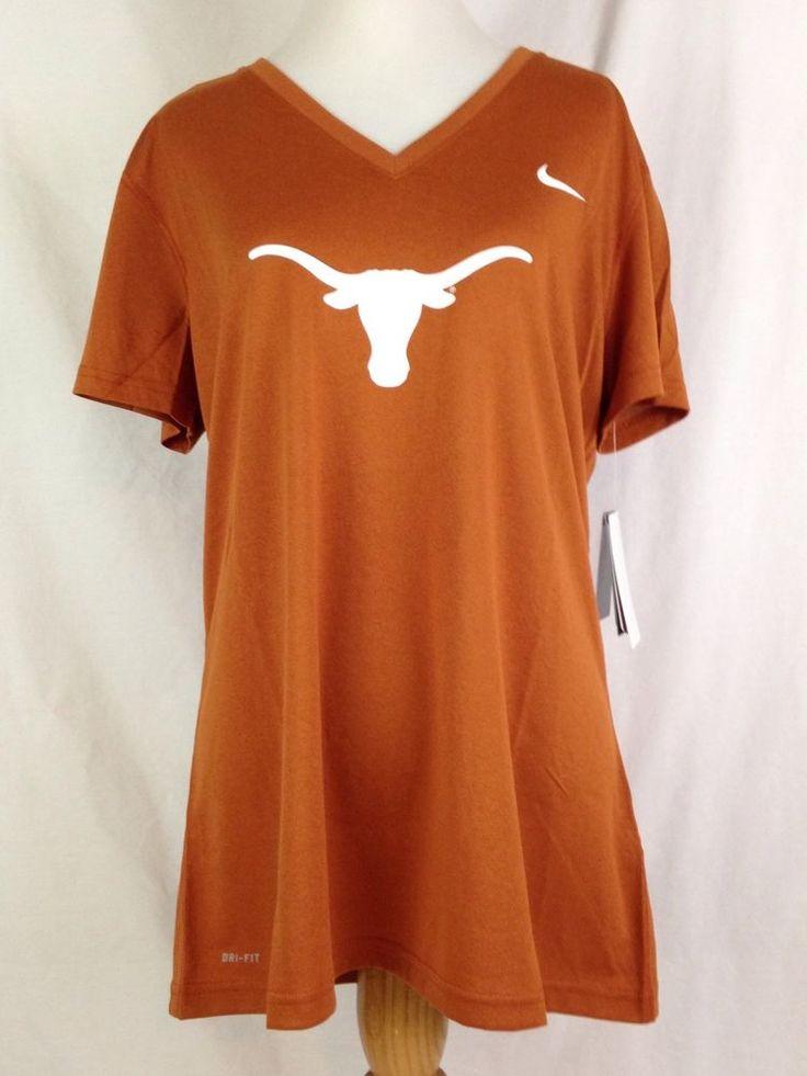 Texas Longhorns Nike Womens Shirt L Size Dri Fit V-Neck Logo Big 12 Football NWT #Nike #Texas #TexasLonghorns #Longhorns #Big12 #CollegeSports #College #Football #Ebay #EbaySeller #EbaySellers #EbayDeals #EbayStore #EbayLife #EbayReseller #Reseller #ResellerLife #Thrift #Thrifting #ThriftingLife