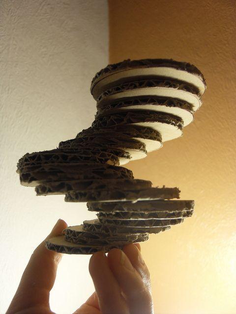 cardboard sculpture | cardboard sculpture | Flickr - Photo Sharing!