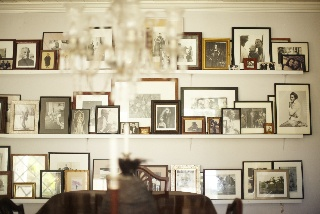 Family history.Interiors, Gallery Wall