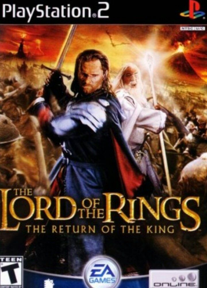Javier Sánchez On Twitter Lord Of The Rings Lord Video Game Collection