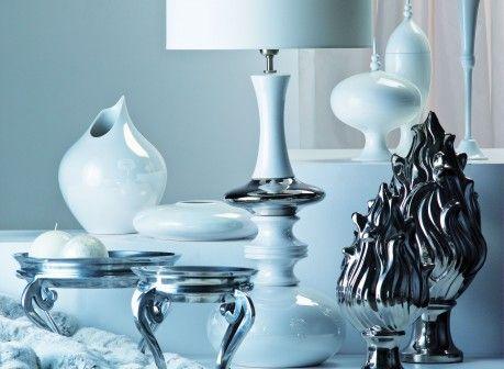Kler Accessories ceramika i szkło: świeczniki, wazony, lampa