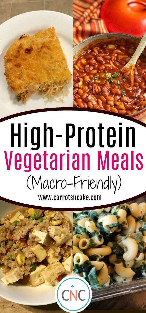 High Protein Vegetarian Meals Macro Friendly Carrots N Cake Recipe High Protein Vegetarian Recipes Vegetarian Meal Prep Vegetarian Meal Plan