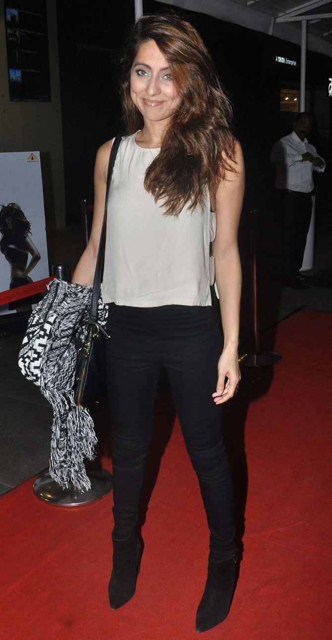 Anusha Dandekar at screening of 'Calendar Girls'. #Bollywood #Fashion #Style #Beauty #Hot #Sexy
