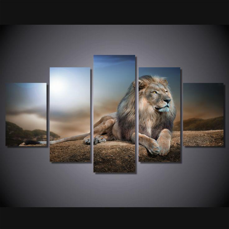 Lion Home Wall Art