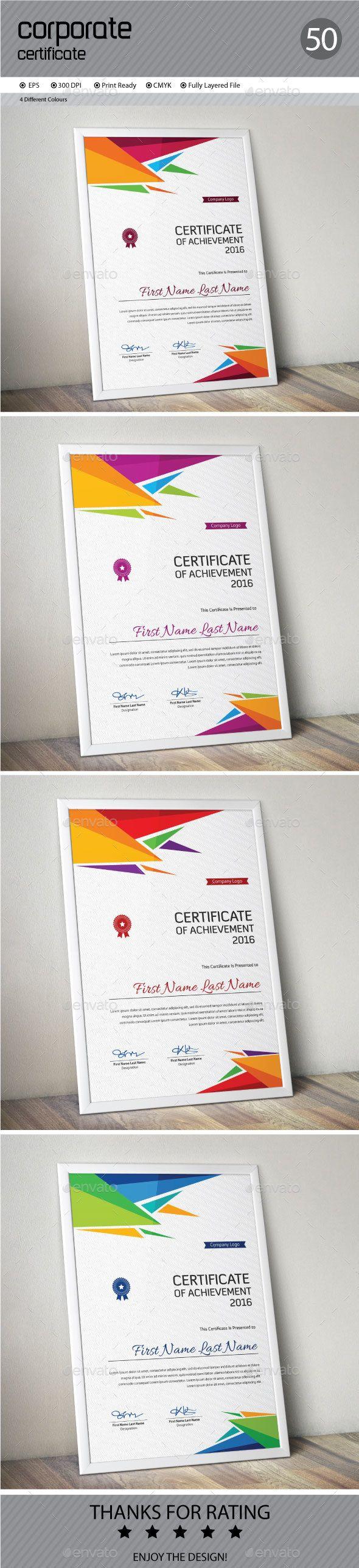 Certificate Template Vector EPS. Download here: http://graphicriver.net/item/certificate/14459520?ref=ksioks