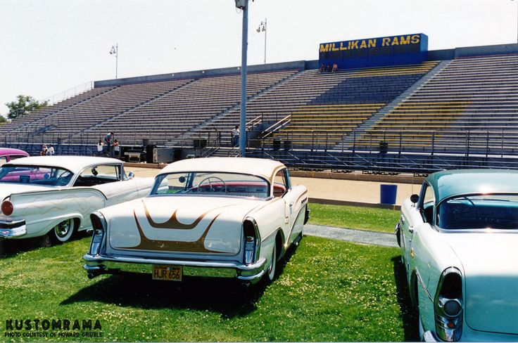 Sultans Car Show at Millikan High School 1995 - Kustomrama