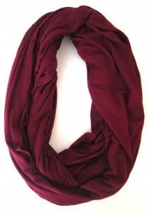 Maroon Infinity Scarf Renuzitindulgences Fall Winter