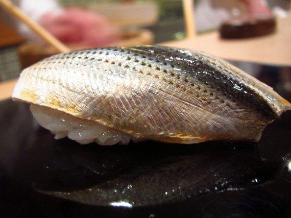 Sushi with Kohada from Sukiyabashi Jiro, Tokyo