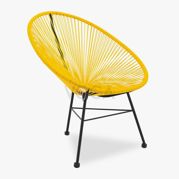 les 25 meilleures id es de la cat gorie chaise acapulco sur pinterest chaises r tro chaises. Black Bedroom Furniture Sets. Home Design Ideas