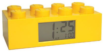 Lego clock for boys room - eclectic clocks by Fat Brain Toys#Repin By:Pinterest++ for iPad#