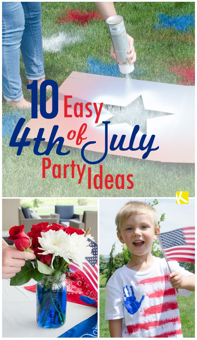 10 Easy 4th of July Party Ideas You Must Try