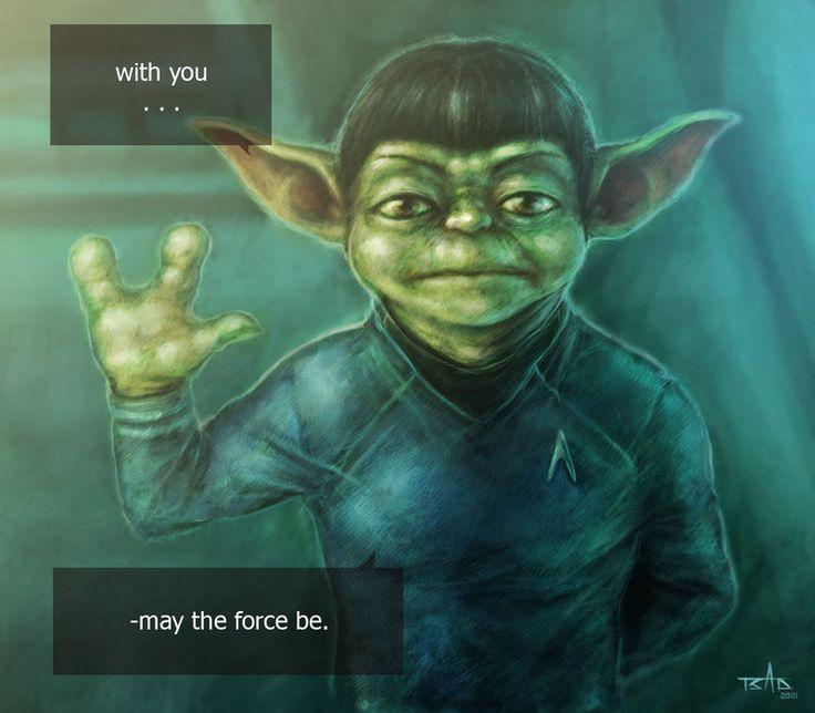 Jedi Master Yoda Quotes: Yoda Vulcan By Tsad.deviantart.com