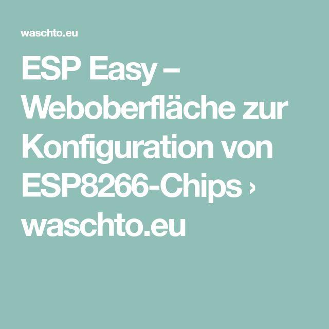 58 besten ESP 82 Bilder auf Pinterest   Arduino wifi, Basteln und ...