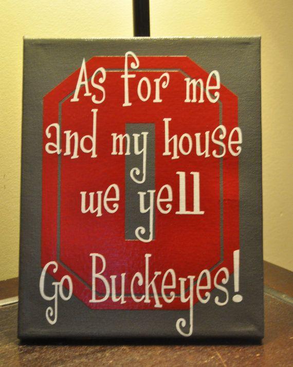 Ohio State Buckeyes Canvas
