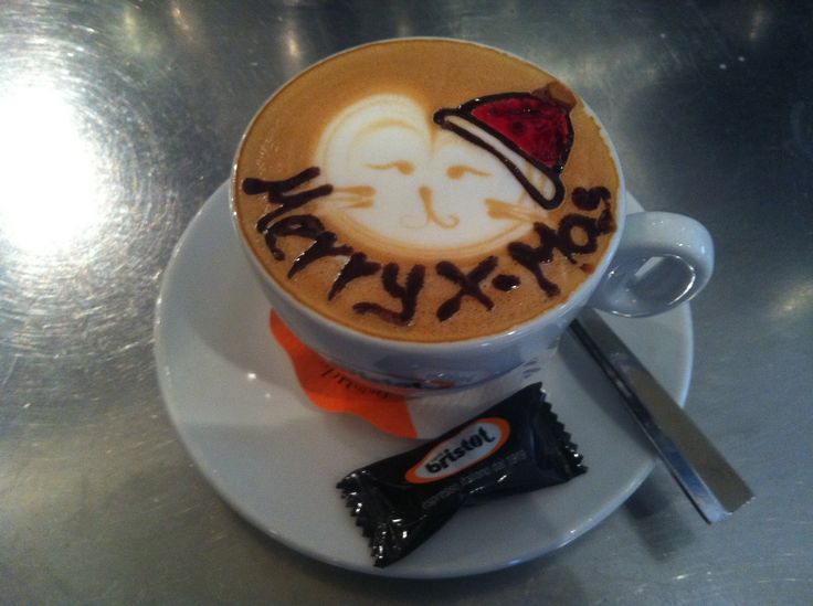 Latte Art - Merry X-mas