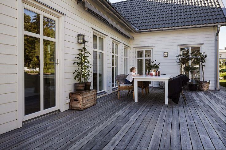 Villa Sjövik altan