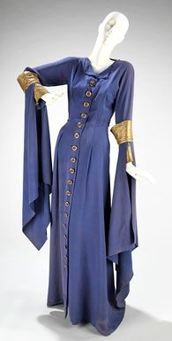 Jeanne Lanvin 1930s gown in Lanvin Blue.