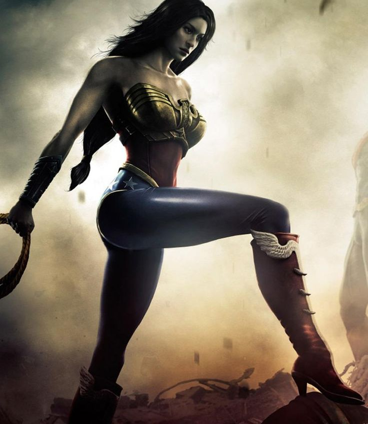 The Wonder Woman Game! Play Injustice with only Wonder Woman until she comes out with her own game!