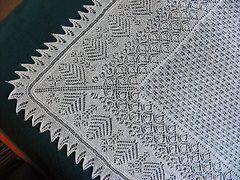 Ravelry: Butterflies Shetland Shawl pattern by Susan Gutperl  -   free pattern
