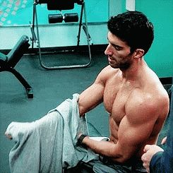 Pin for Later: 21 Times Jane the Virgin's Rafael Gave You Serious Hot Flashes Then When He's Done Pumping Iron
