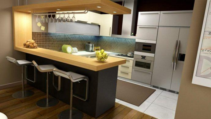 56 Inspirierende Ideen Fur Ihre Perfekte Kuchenbar Kuchen Design Kuchendesign Moderne Kuche