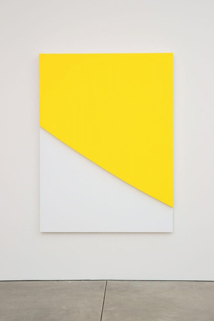 Ellsworth Kelly, Yellow Curve in Relief, 2009