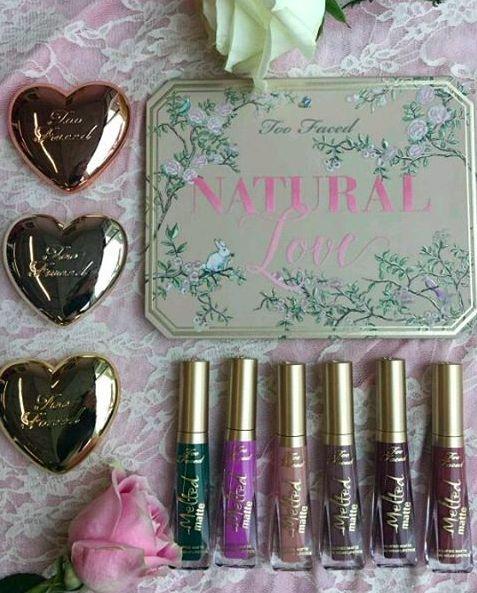 nouveaute-too-faced-natural-love-palette-melted-matte-love-light-enlumineur-highlighter-swatchs-sephora-france