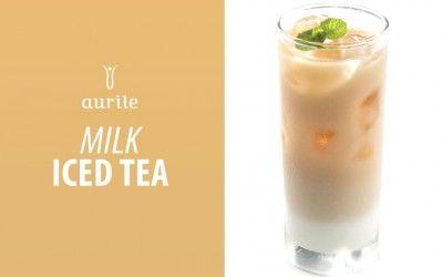 Mrożona herbata Aurile Serenity z mlekiem