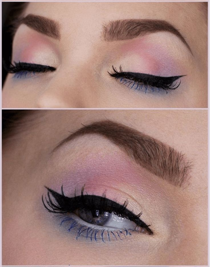 Cute Pastel Eye Makeup for Spring 2016 | 7 Spring Makeup Looks To Inspire You, check it out at http://makeuptutorials.com/spring-makeup-looks-makeup-tutorials