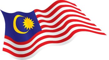 Malaysia Flag Free Crochet Bag Flag