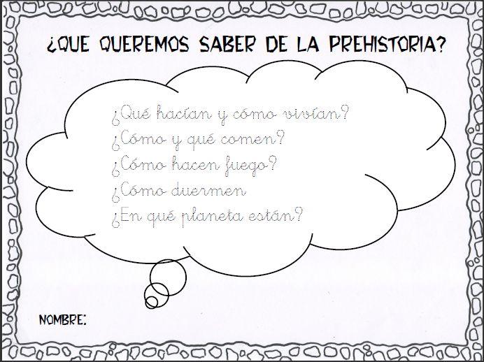 Proyecto La Prehistoria original