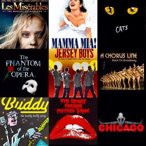 AIM are so excited about our Music Theatre departments RENT production! Here are some of our all time favourite musicals!  #musictheatre #music #upcoming #performance