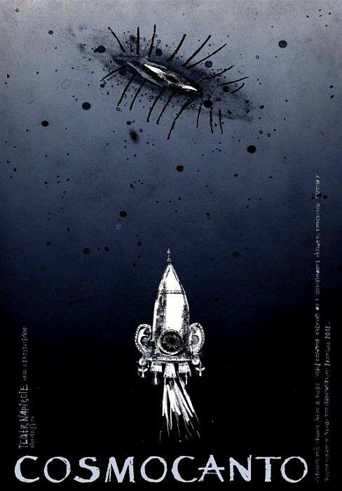 Cosmocanto, Polish Opera Poster: Polish Posters Shop