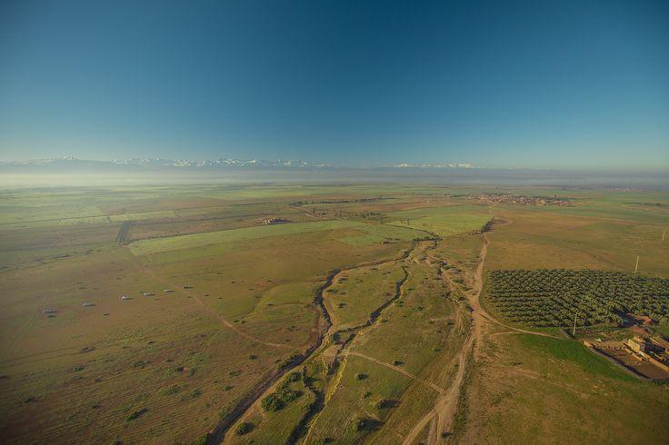 Полет на воздушном шаре вблизи г.Марракеша (Марокко) Первый день авто-путешествия на джипах. Джип тур в Марокко на 9 дней.
