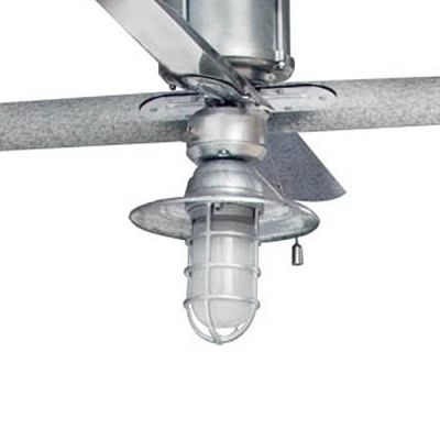 cool fan for home gym barnstormer cast guard ceiling fan light kit from barnlightelectric - Coole Deckenventilatoren Fr Kinder