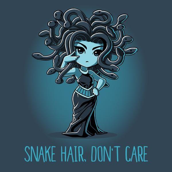Snake Hair, Don't...