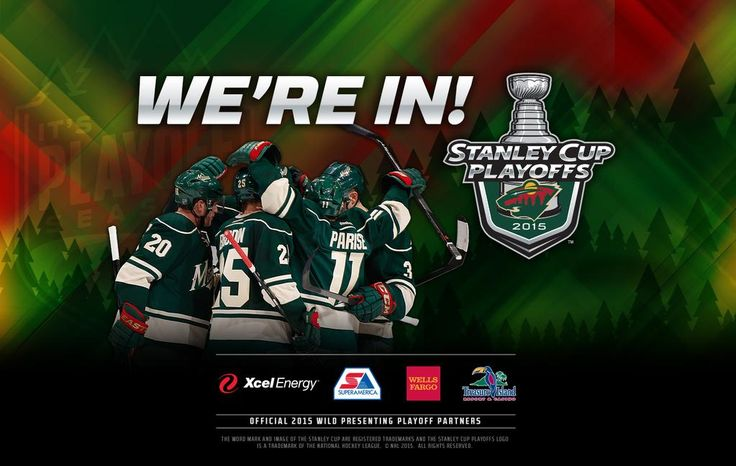 WE'RE IN! #mnwild http://ow.ly/Lk2vY