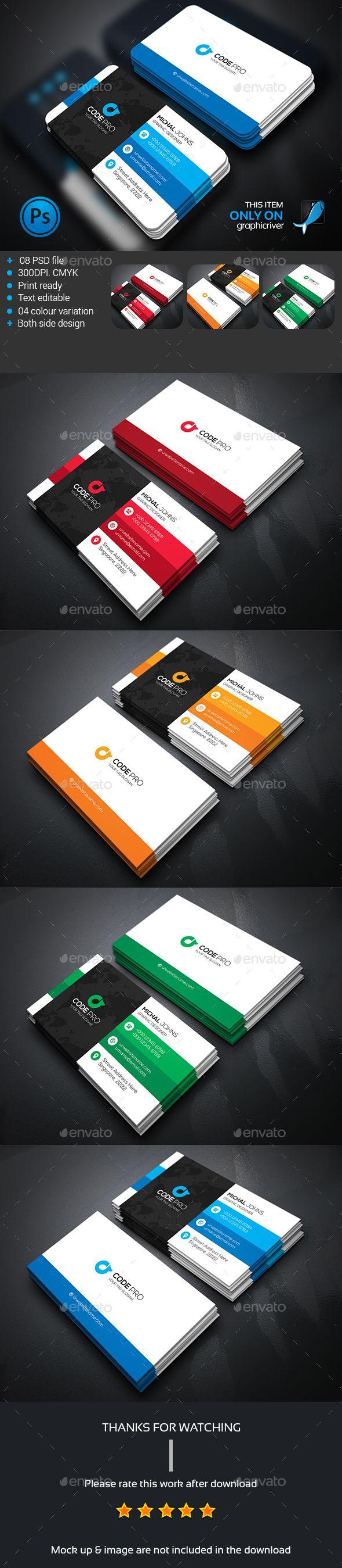 Mega Corporate Business card Template PSD #design Download: http://graphicriver.net/item/mega-corporate-business-card/13683109?ref=ksioks