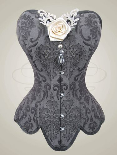 simple, modest, but so beautiful | Corset by V-Couture