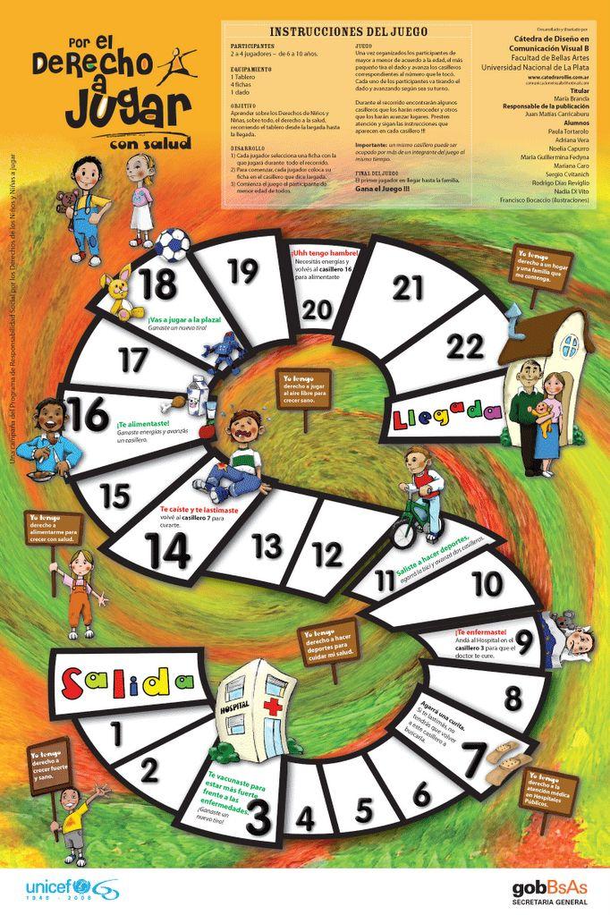 Este trabajo fue producido por UNICEF y el Gobierno de la ciudad de Bs. As. para ser distribuido como juego didáctico en entidades educativ...