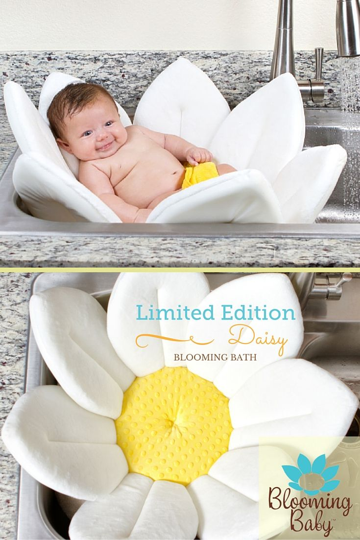 Introducing our new, Limited Edition Daisy Blooming Bath. It's so pretty!  https://www.bloomingbath.com/blooming-bath-baby-bath.html