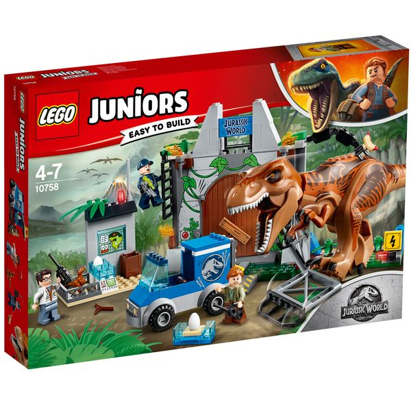 king jouet lego helicoptere jurassic world