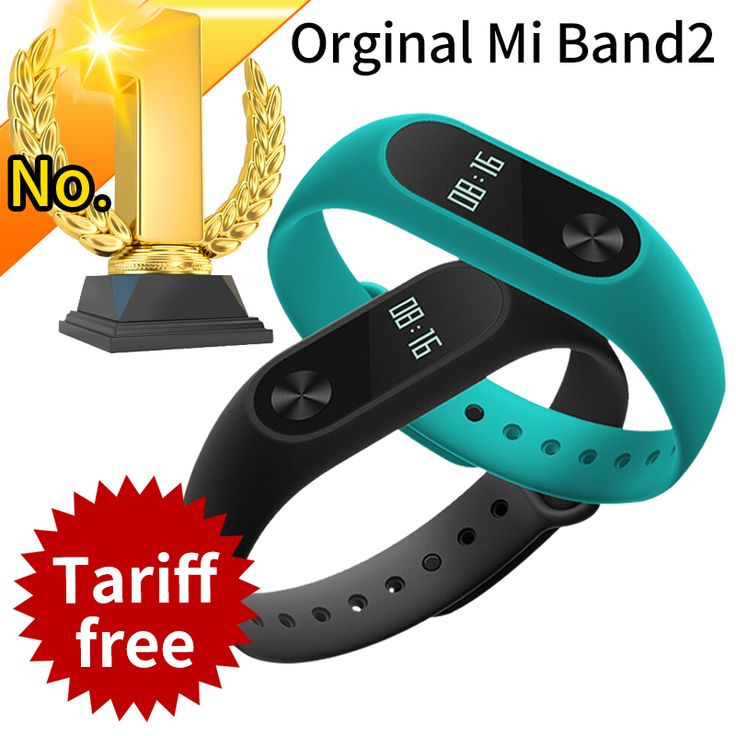 RU In Stock Original Xiaomi Mi Band 2 Miband Band2 Wristband Bracelet Smart Heart Rate Fitness Tracker Touchpad OLED Strap xiomi