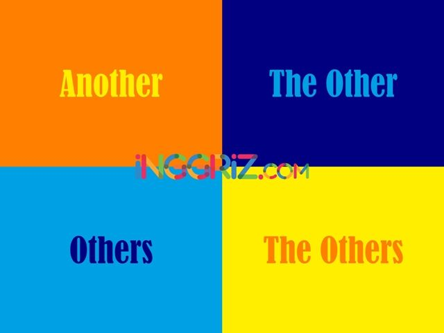 Perbedaan Another, The Other, Other, The Others dalam Bahasa Inggris
