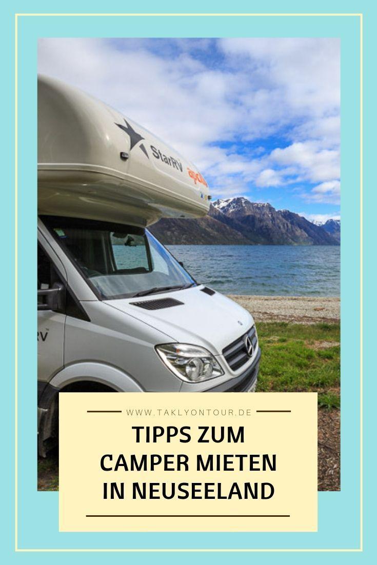 ✰ Tipps zum Camper mieten & sparen in Neuseeland ✰  Camper